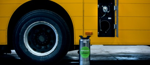 Researchers are looking at ways to reduce cars' nitrogen oxides, which contribute to greenhouse gas emissions. Image courtesy of Amminex