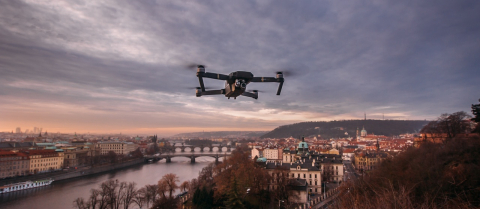 drones-city-air-traffic