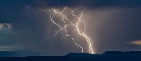 thunderstorm, storm, lightning