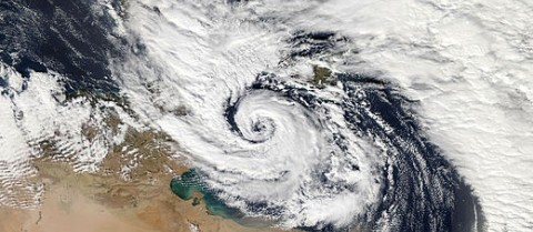 A Mediterranean tropical-like cyclone hit Malta and Sicily in November 2014. Image credit: NASA