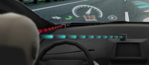 A Swedish SME is making eye-tracking systems that can see if a driver is paying attention behind the wheel. Image courtesy of Smart Eye