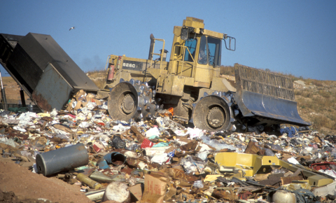 New ways of recycling and reusing products will reduce the amount of waste going into landfill. Image credit - Flickr/ Wisconsin Department of Natural Resources, licensed under CC BY-ND 2.0