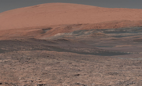 The conditions on early Mars were habitable, says Dr Alberto Fairén. Image credit - NASA
