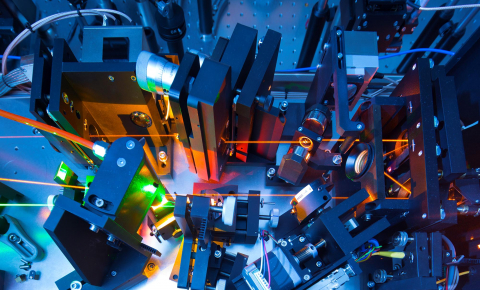 Quantum sensors could transform a range of areas from atomic clocks and the way we measure electromagnetic radiation. Image credit - Heiko Grandel for the institute of quantum optics from Ulm. Image credit - Universität Ulm / Heiko Grandel