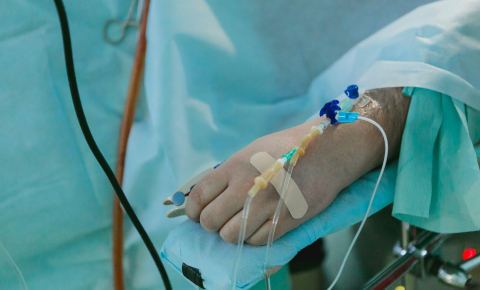 Identifying which treatment is effective in severely ill patients can be difficult as they undergo multiple interventions. Image credit - Olga Kononenko/Unsplash
