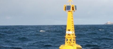 Os instrumentos de monitorização dos oceanos podem informar os cientistas sobre a forma como as alterações climáticas afetam as nossas águas. Crédito fotográfico — Aliança de Investigação sobre o Oceano Atlântico (AORA)