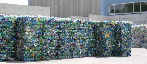 Plastic ready to be recycled. © Moreno Soppelsa/Shutterstock