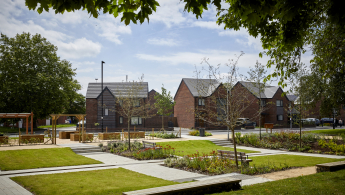 GrowGreen's team adapted the idea of a 'sponge city' in West Gorton Park, Manchester, where the natural environment acts as a slow-release sponge for water. Image credit - Manchester City Council