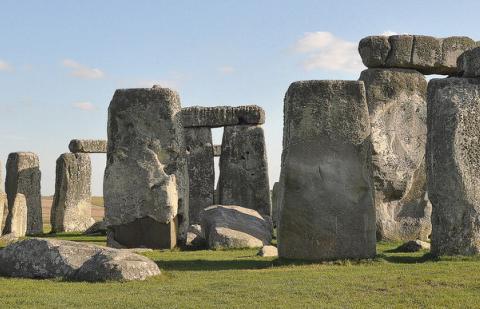 Stonehenge. Image credit - Flickr, Jim Bowen