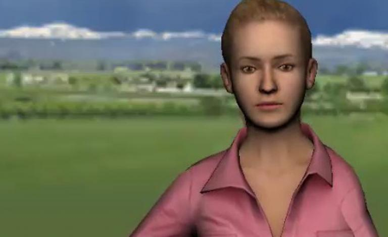 The INTERACT project is using avatars to study mimicry. Image courtesy of INTERACT.