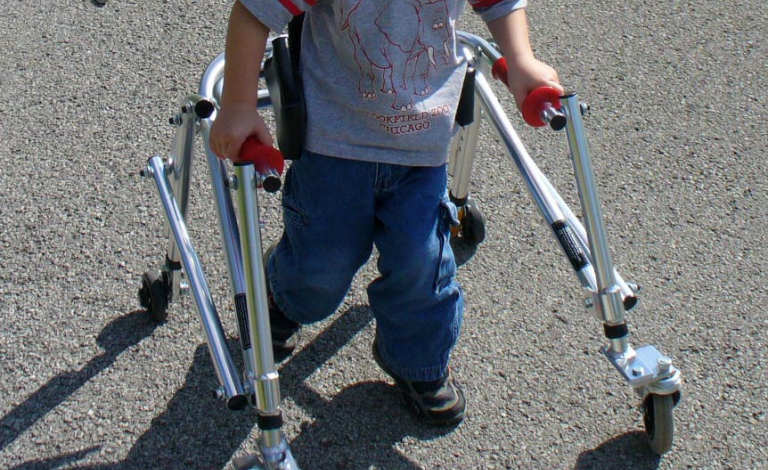 By understanding more about walking and balance, researchers hope to develop new treatments for cerebral palsy. Image credit - Paul Eisenberg, licensed under CC BY 2.0, image was cropped
