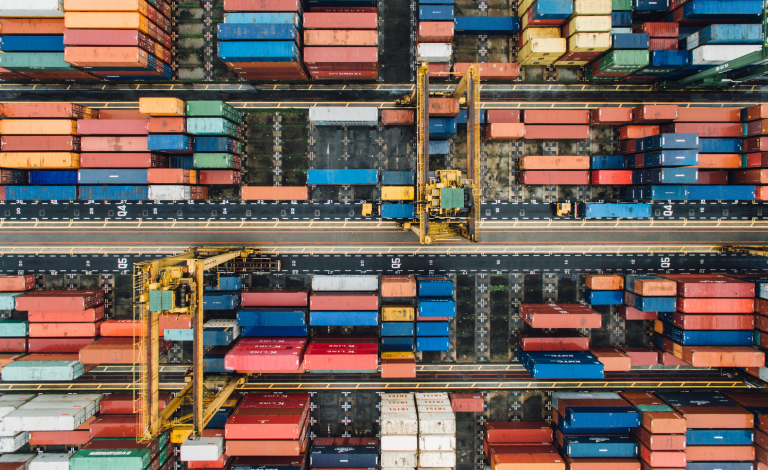 According to Marcel Huschebeck, the physical internet could improve the speed of shipments, resulting in faster deliveries. Image credit - CHUTTERSNAP/Unsplash