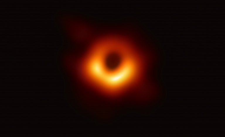 Astronomers are trying to determine how supermassive black holes, such as the one at the heart of the galaxy M87, grew so quickly. Image credit - EHT Collaboration