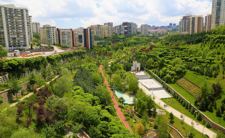 Integrating nature into cities can provide citizens with urban cooling, cleaner air, regulated water supplies and flood protection. Image credit - Max Pixel, licensed under CC0