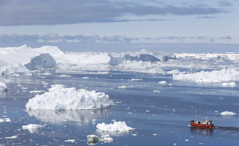 Global warming has led to widespread shrinking of the frozen parts of Earth, known as the cryosphere, according to the UN's Intergovernmental Panel on Climate Change. Image credit - NordForsk, licensed under CC BY 2.0