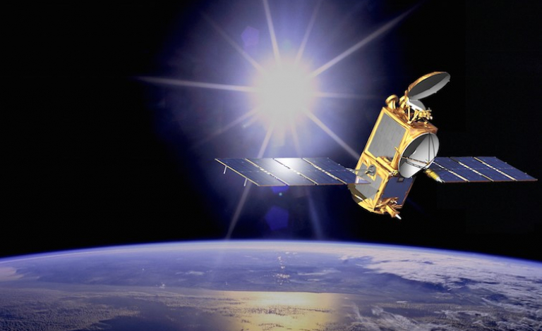 The current standard propellant for satellites based on hydrazine, which is highly toxic, so researchers are developing safer alternatives. Image credit - NASA-JPL/Caltech