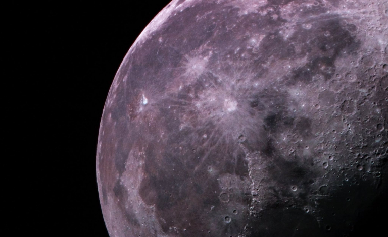 New findings suggest that if the moon formed after a giant impact after water had had been received, it should have gotten a share of that water. The question is - where did it go? Image Credit - ANDY SMITH ASTRONOMY