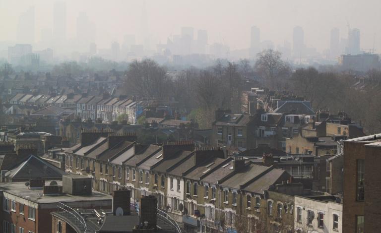 smog city climate change