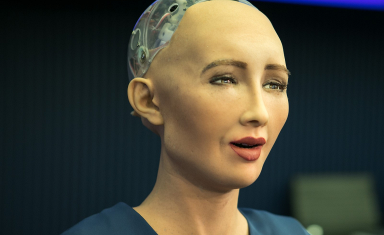 One of the pressing questions that arise with artificial intelligence is how to account for the actions of machines that make decisions by themselves. Image credit - ITU Pictures, licensed under CC BY 2.0