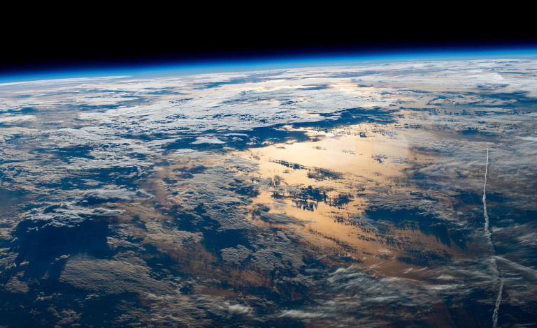 Smaller, autonomous satellites could help analyse the internal structure of clouds to give a more detailed view of Earth's changing climate. Image credit -  Earth Science and Remote Sensing Unit, NASA Johnson Space Center