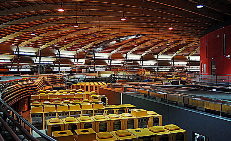 Research institutions such as synchrotron X-ray facilities have shifted their work and facilities to help researchers working on coronavirus research. Image credit - Sil.d/Wikimedia, licensed under CC 4.0