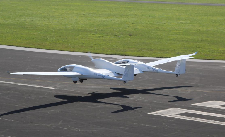 Hydrogen-powered planes are still in their infancy but the first commercial versions could enter the European market by 2035 according to a new report. Image credit - DLR/CC BY-3.0