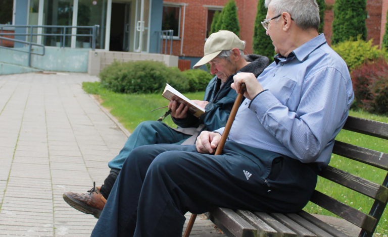 Neurologists, architects, artists, and epidemiologists are collaborating to design cities that could be used to improve well-being among older people. Image credit - Senior Guidance, licensed under CCby2.0