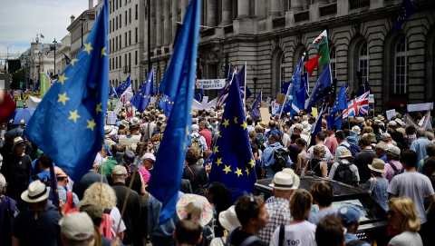 Attitudes towards the EU can vary from nation to nation and even moment to moment. Image credit - Ilovetheeu, licensed under CC BY-SA 4.0