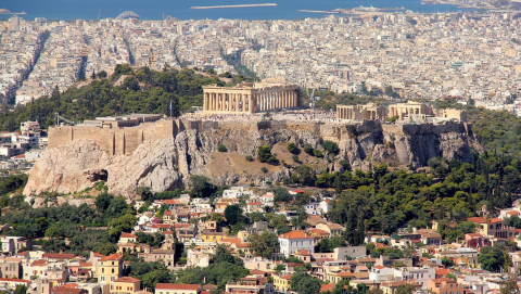Athens, Greece was awarded the €1 million iCapital prize. Image credit - Pixabay/sman_5, licensed under CC0