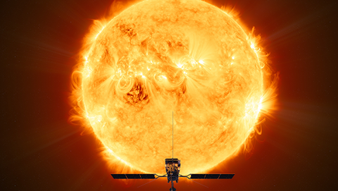 The Solar Orbiter will let us see the sun in unprecedented detail, potentially including the first-ever view of the sun's poles. Image credit - ESA/ATG medialab
