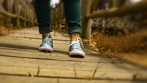 More than half of people with advanced Parkinson's disease experience freezing of gait, which can lead to falls. Image credit - Fernandoz Himinaicela/ pixabay