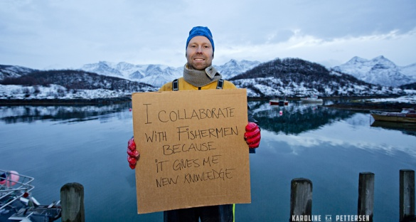 Scientists like Stain Kleven, who studies coastal cod in Norway, collaborate with fishermen in the GAP2 project. Credit: Karoline Pettersen