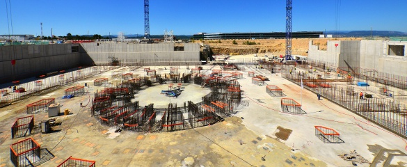 In the hills of Provence, southern France, ITER – the International Thermonuclear Experimental Reactor – is being built by regions representing over half the world's population. Image: ITER Organization