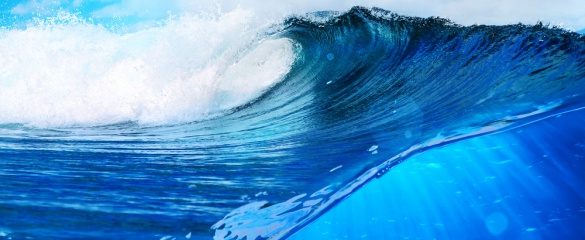 Tidal power has great potential for electricity generation. © Shutterstock/ Willyam Bradberry