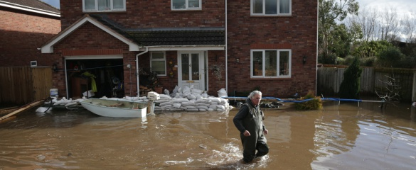Better building design could reduce the impact of floods. Photo by Matt Cardy/Getty Images