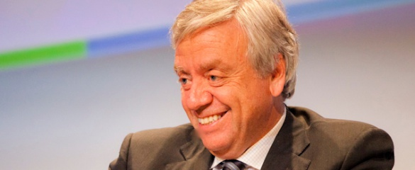 The executive director of the Innovative Medicines Initiative, Professor Michel Goldman. Image: Arnaud Ghys