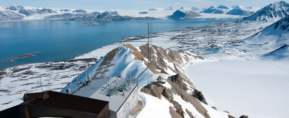 One of the sites of the EU-funded Svalbard Integrated Arctic Earth Observing System (SIOS) project. Photo: Ove Hermansen/NILU