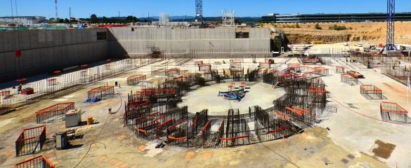 Regions representing over half the world's population have joined forces to build ITER – the International Thermonuclear Experimental Reactor – in the hills of Provence, southern France. Image: ITER Organization
