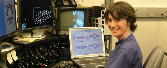 Dr Xoana Troncoso has worked in Spain, the UK and the US in her field, neuroscience. Image ©Marie Curie Actions.