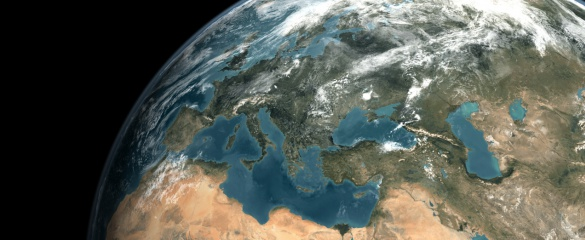 Collaborative research is strengthening ties between the EU and its neighbouring countries. Image credit: MODIS