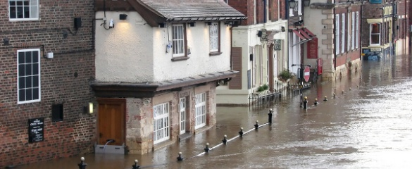 Incidents of flooding are expected to increase if climate change continues its current course. Image credit: Shutterstock/ Skynavin