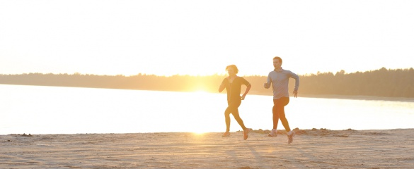 Vitamin D is manufactured by the body when the skin is exposed to sunlight. Image : Shutterstock