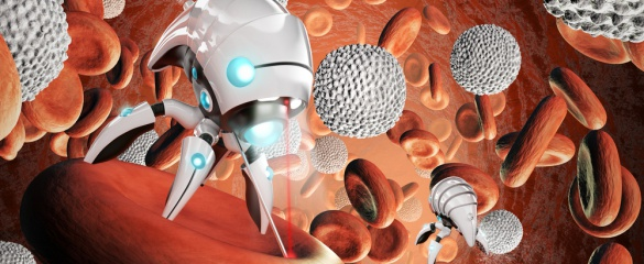 EU-funded scientists are developing nanorobots which can kill tumour cells with high temperatures and DNA origami. Image credit: Shutterstock