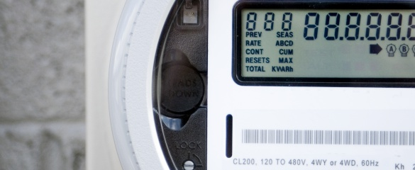 Smart meters are helping people use electricity more efficiently. © Shutterstock/LeahKat