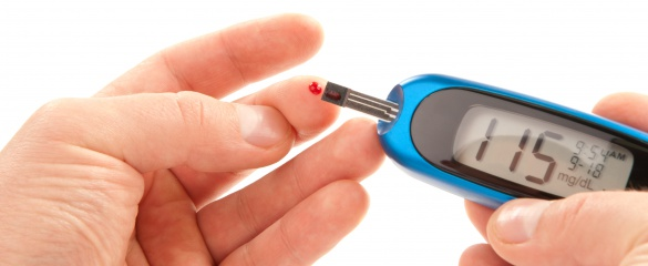 Type-1 diabetes sufferers monitor their blood glucose levels several times a day. © Shutterstock