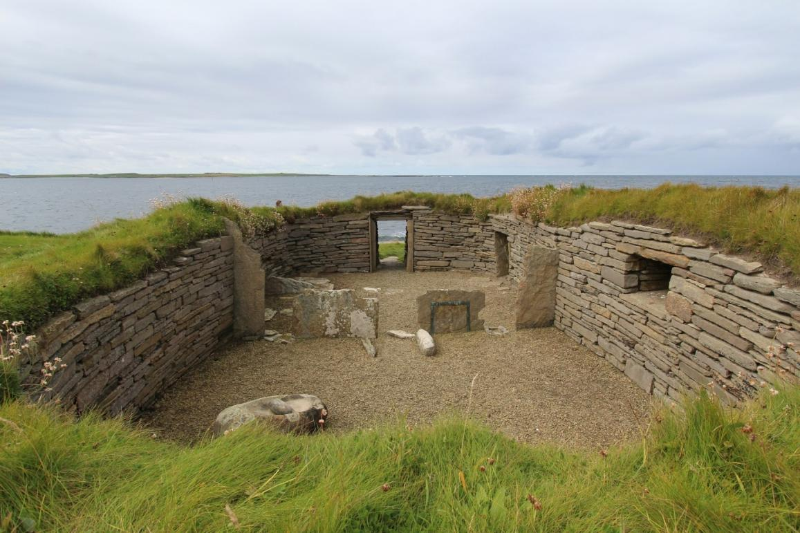 The home was an important nexus of activities such as flint knapping (shaping), hideworking, woodworking, and pottery production for Neolithic people, the first humans who farmed the land and lived in substantial domestic buildings. We know this because of the work of researchers such as Dr Ben Chan, who has analysed tools from houses, such as this one in Orkney, Scotland, to find out what changes people went through when they shifted from hunting-and-gathering to farming. He is being funded by EU's Marie S