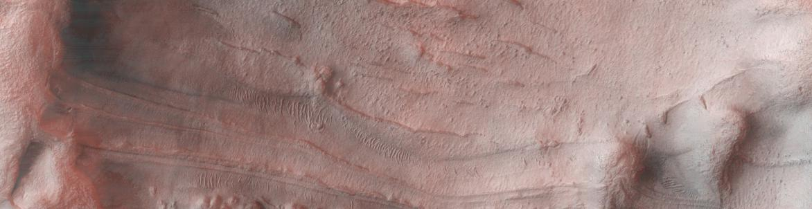 The EU-funded icyMARS project has found evidence of glaciers, frozen lakes and icebergs on Mars's surface, which, according to principal investigator Dr Alberto Fairén, confirm the existence of very cold oceans on Mars around 4 billion years ago. 'Picture the Arctic Ocean on earth … big massive amounts of ice forming glaciers and large armadas of icebergs floating on the seas and lakes. icyMARS is contributing to revealing Mars as it was, not that earth-like, but really alien,' he said. Image: scour marks l