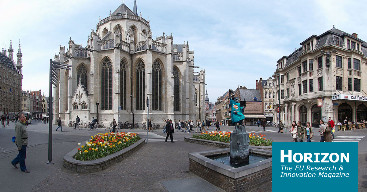 Leuven, Belgium won the 2020 €1 million iCapital cash prize. Image credit - Wouter Hagens/ Wikimedia, licenced under CC BY-SA 3.0