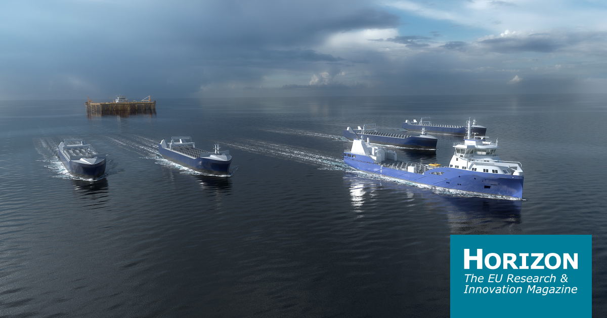Automated shipping coming to Europe's waters - Horizon magazine