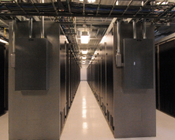 Data centres that store and process algorithms use a lot of energy but there is little discussion about their environmental impact. Image credit - 123net/Wikimedia, licensed under CC BY-SA 3.0